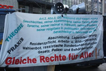 Gedenken an Shambu Lama und Vorbereitung des Tribunals Samstag, 02. März 2013 in Gifhorn und Meinersen