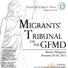 Rex Osa's Testimony by Affidavit for The INTERNATIONAL MIGRANTS TRIBUNAL Quezon City, Philippines