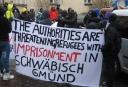 Lokalnachrichten: Weiter Protest gegen Erzwingungshaft für Asylbewerber in Schwäbisch Gmünd