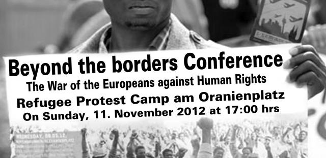 The VOICE- Protocol 11.11.12: O&A with Alassane Dicko and Rex Osa on Beyond the borders Conference in Berlin